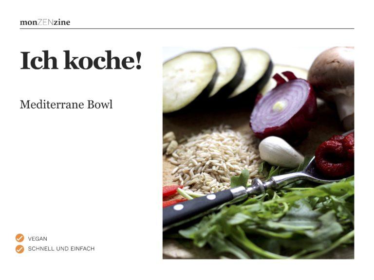 Rezept Mediterrane Bowl (PDF)