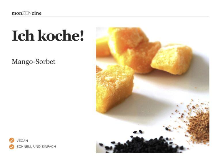 Rezept Mango-Sorbet (PDF)