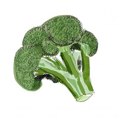 Brokkoli, Einkaufsführer, belastete Lebensmittel